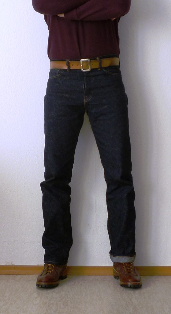 Front fit and back fit. The denim  The WH 800 uses Warehouse s ... 88693f01fa7b4