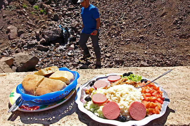 Lunch, Atlas Mountains, Morocco
