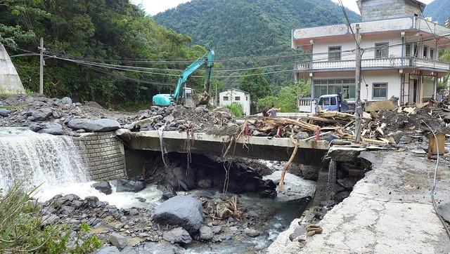 2015蘇迪勒颱風重創烏來,但究竟是天災或是人禍,仍有探討空間。攝影:陳文姿
