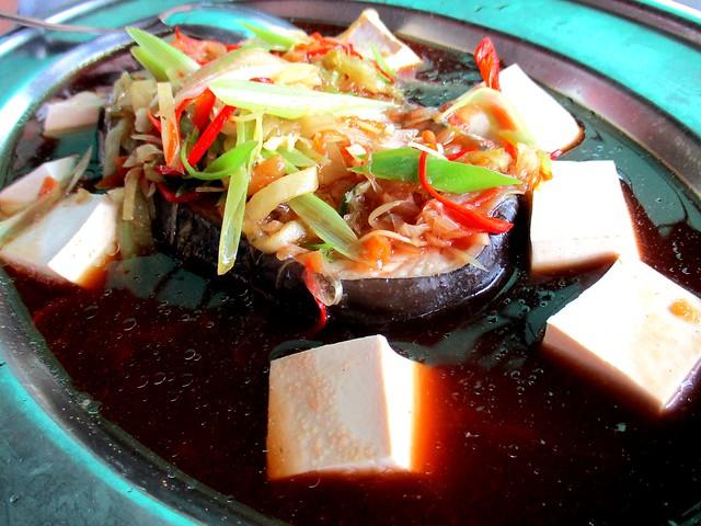 Tung Seng steamed tapah 1