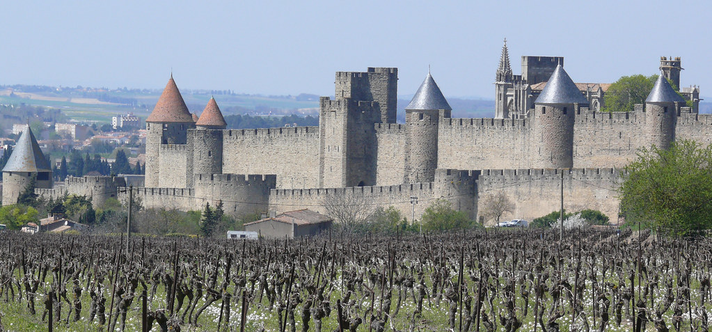 The shining turrets of Carcassonne. Photo Ad Meskens
