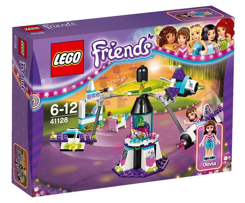 LEGO Friends 41128 - Amusement Park Space Ride | Release: Su ...