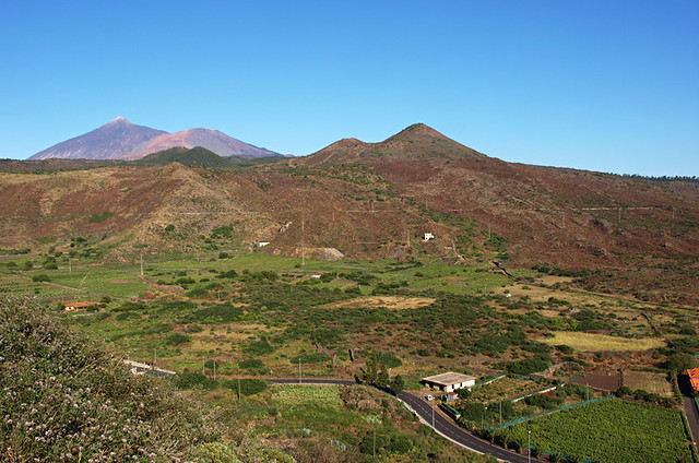 Mount Teide and Valle de Santiago, Teide National Park, Tenerife