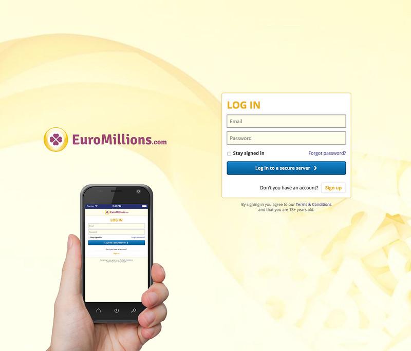 Euromillions login