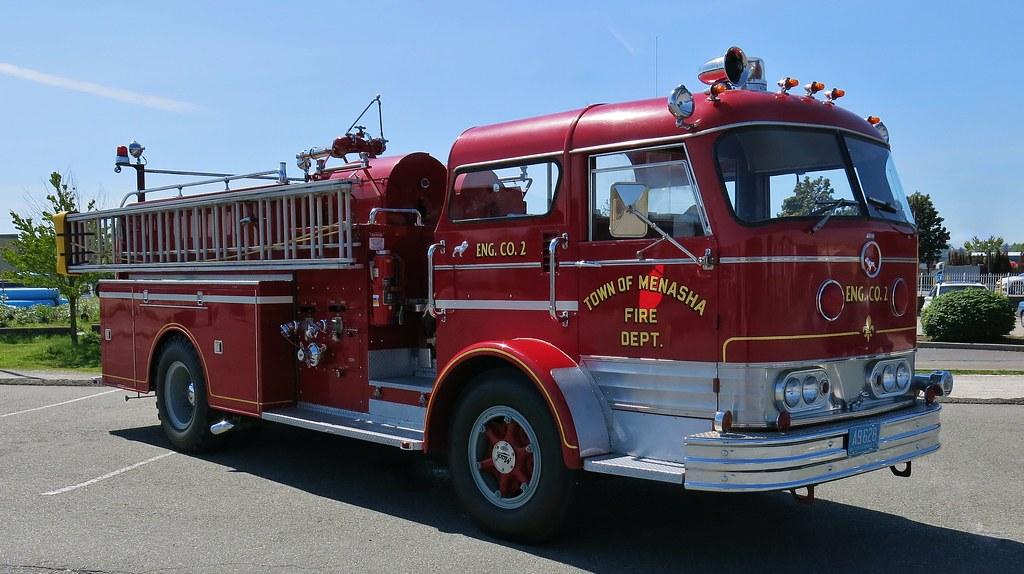 Mack C Model Trucks : Mack c fire truck ex town of menasha dept