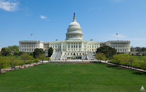 Information about the U.S. Farm Bill and other resources can be found on the USDA National Agricultural Library's new Agricultural Law Information Partnership website. (Photo credit: Architect of the Capitol).