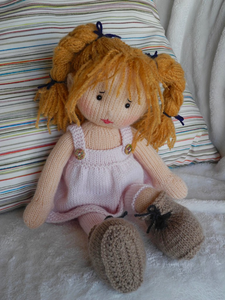 Knitting Pattern Large Rag Doll : Lola 3 wip Lola by Irishmagda Published in Dolly ...