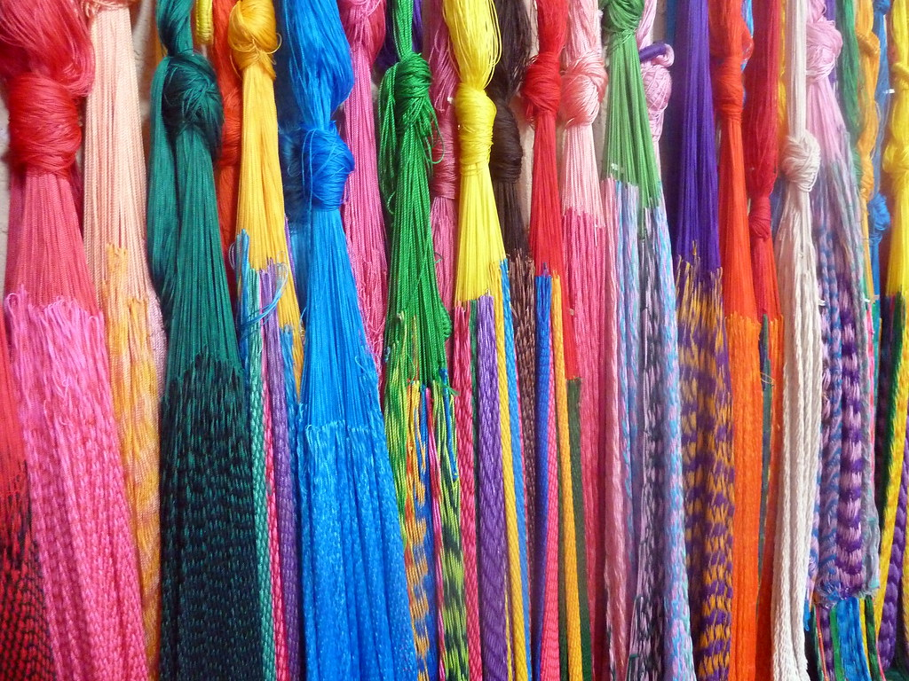 Colours Hammocks In Many Bright Colours Available At The