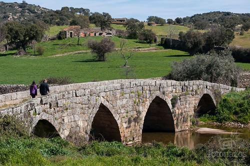 El puente de origen romano de Idanha-a-Velha