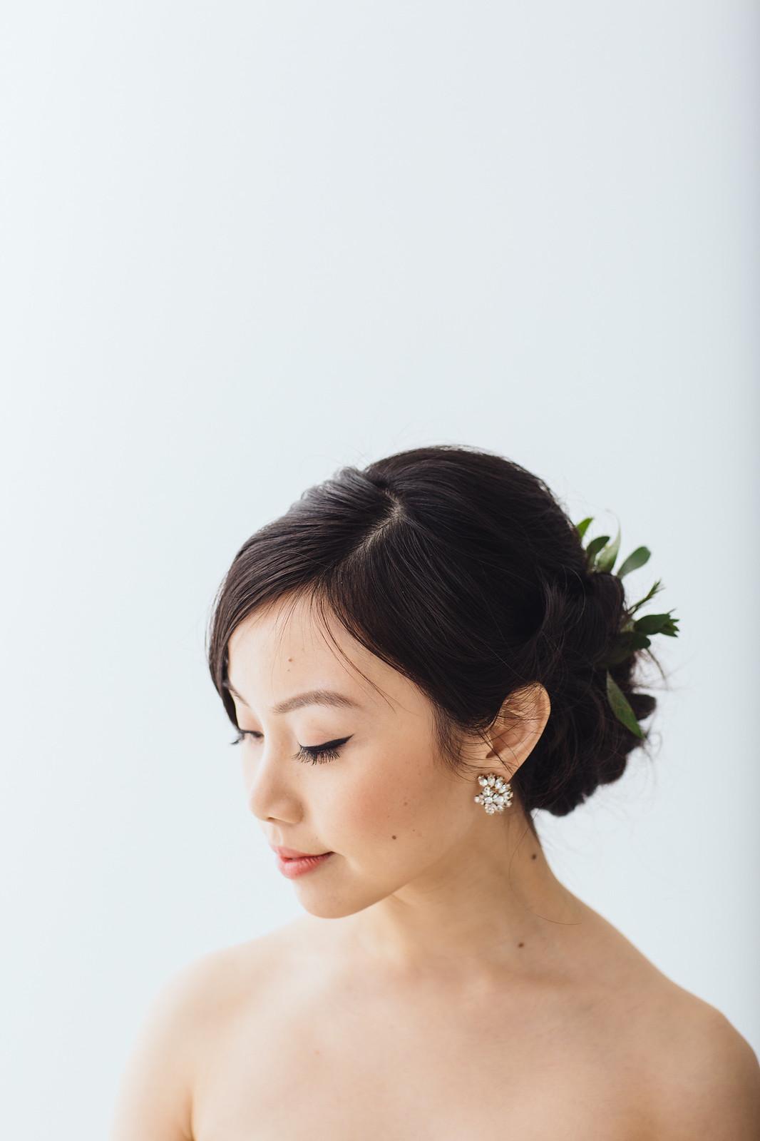 bridal beauty: hair and make up trial