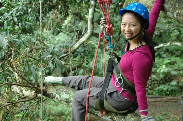 海南自然體驗單位《松鼠學堂》創辦人高高。