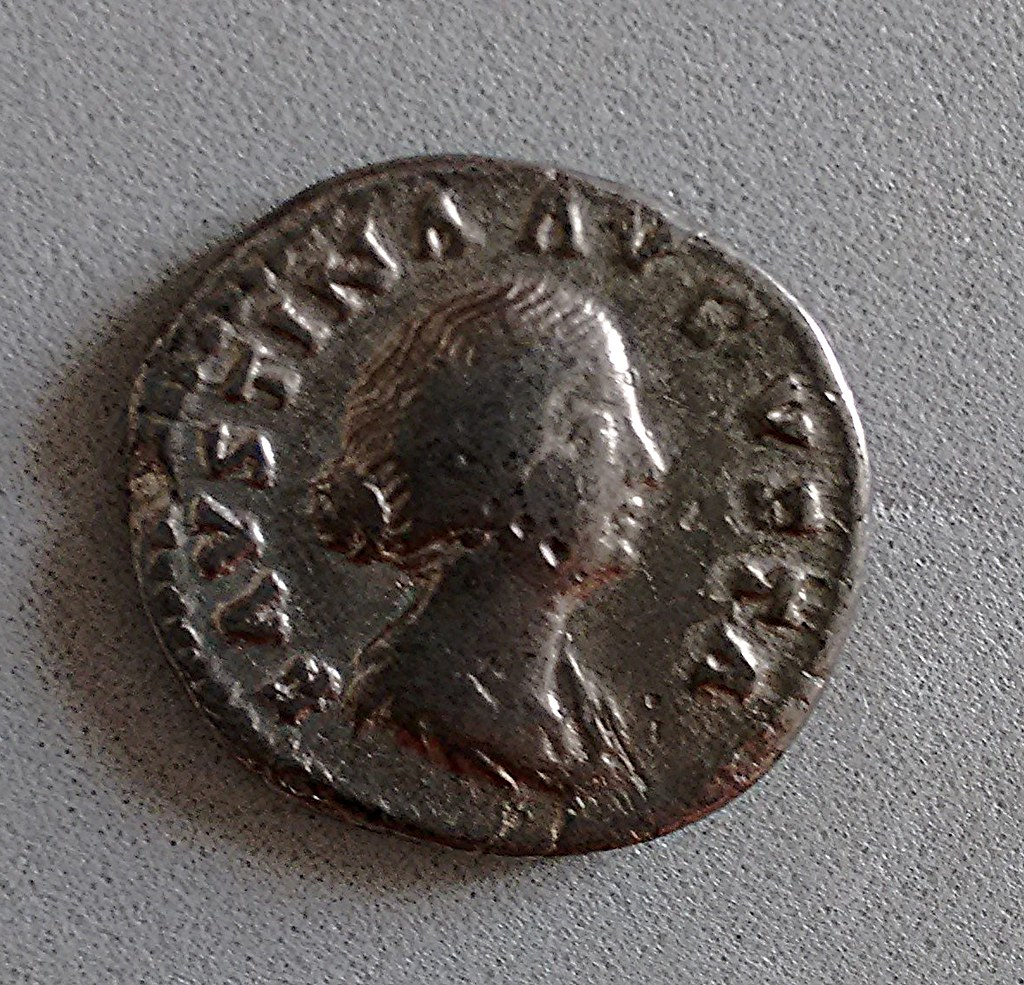 Denario de Faustina Hija. VENVS. Roma 26366655722_f5a67ff9d7_b