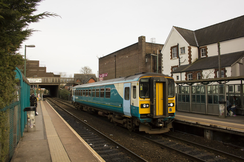 Arriva Trains Jobs >> Cathays, Cardiff | Arriva Trains Wales Class 153 DMU 153367 … | Flickr