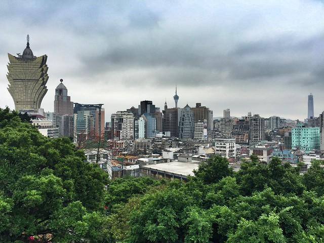 Vistas de Macao desde la Fortaleza do Monte