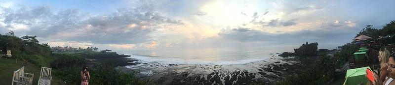 Bali at sunset