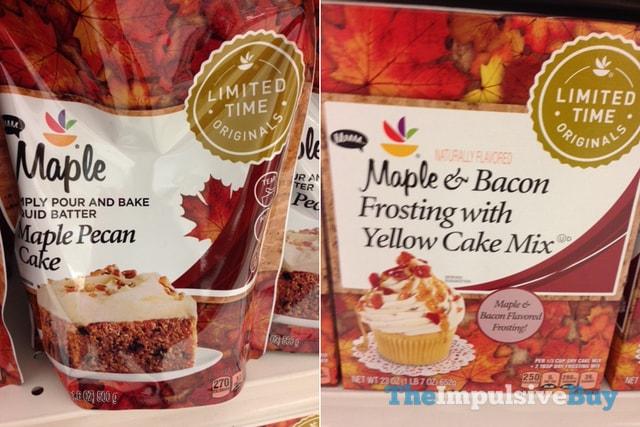 Maple Bacon Cake Mix