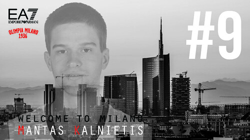 Welcome To Milano, Mantas Kalnietis