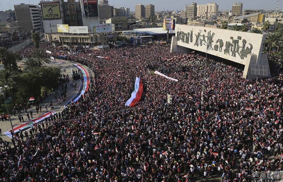 Iraq anti-government rallies attended by tens of thousands of people called for reform