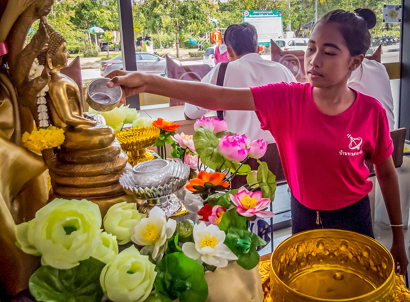 Traditional Songkran in Phuket