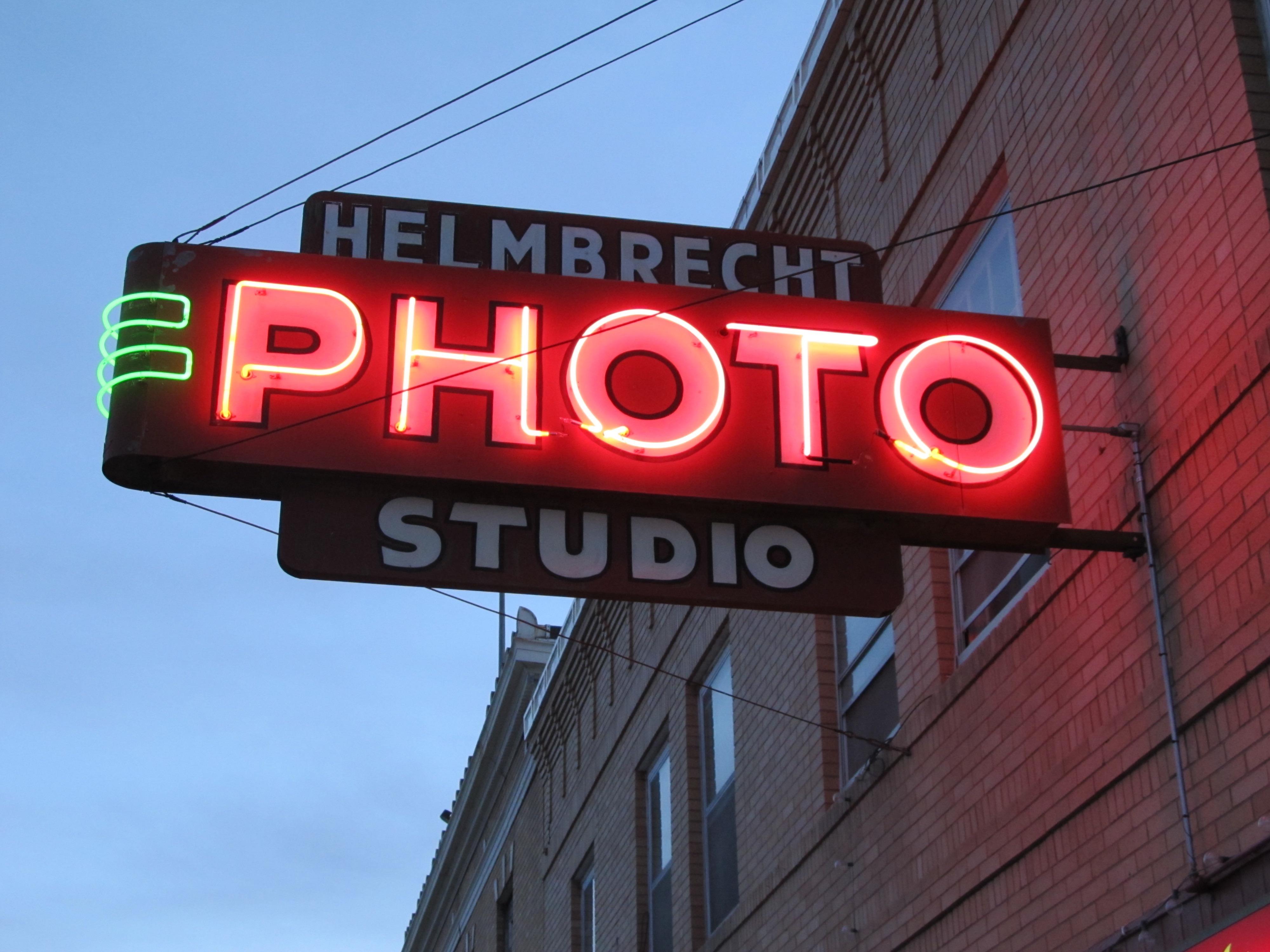 Helmbrecht Photo Studio - 224 4th Avenue, Havre, Montana U.S.A. - February 26, 2016