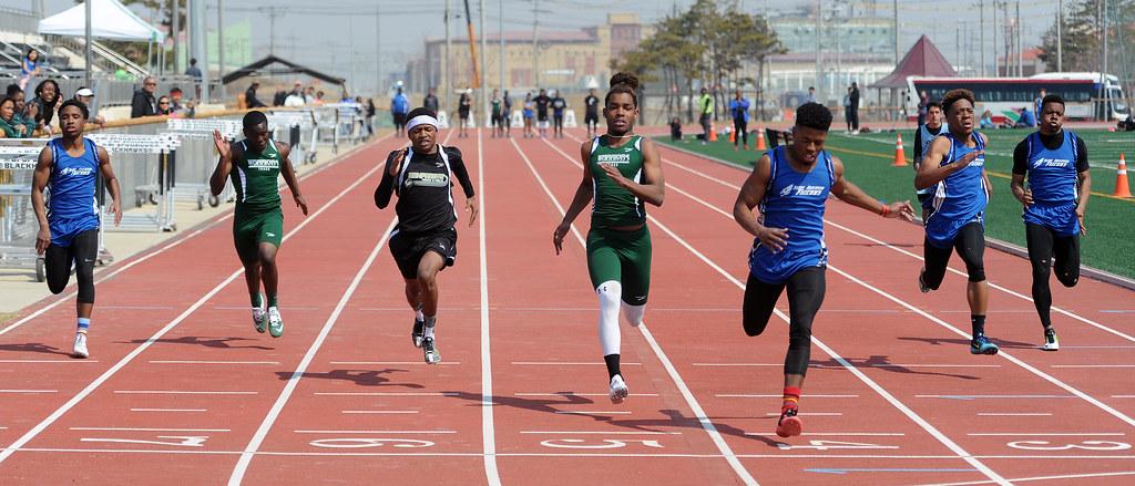 high school track and field meet schedule