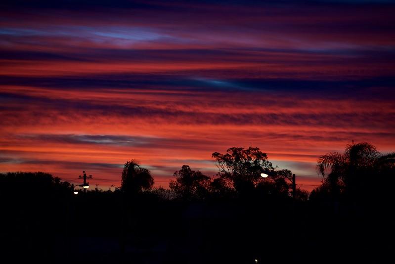 Florida clouds at first light
