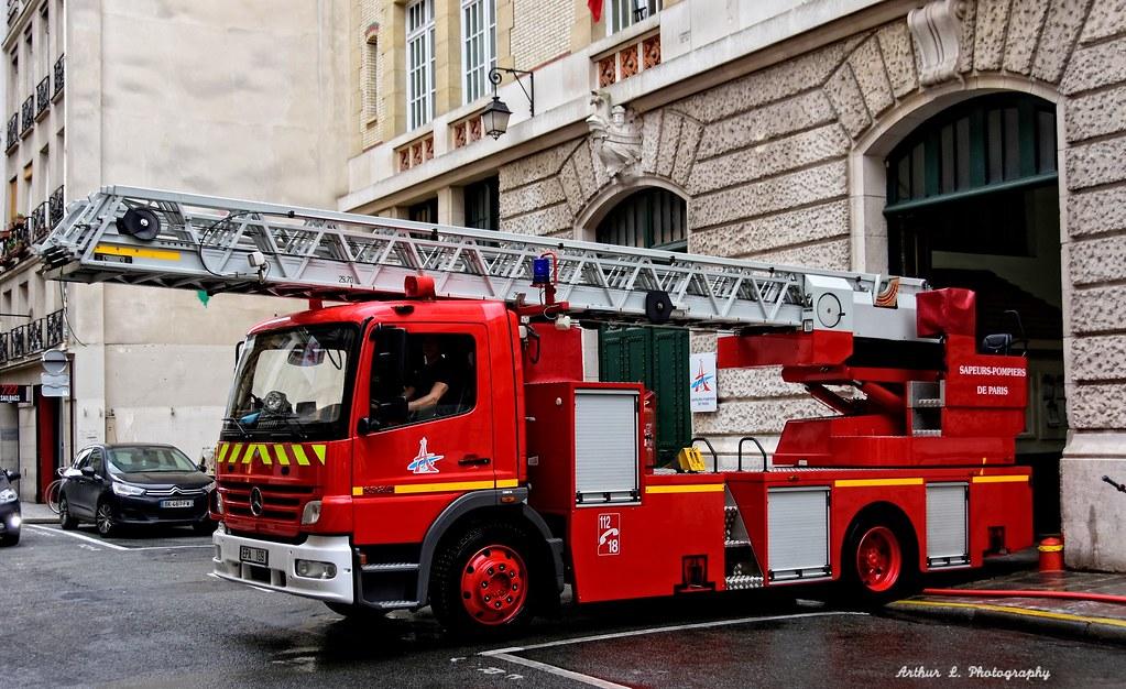 Mercedes >> BSPP - EPA 109 | Brigade de Sapeurs Pompiers de Paris