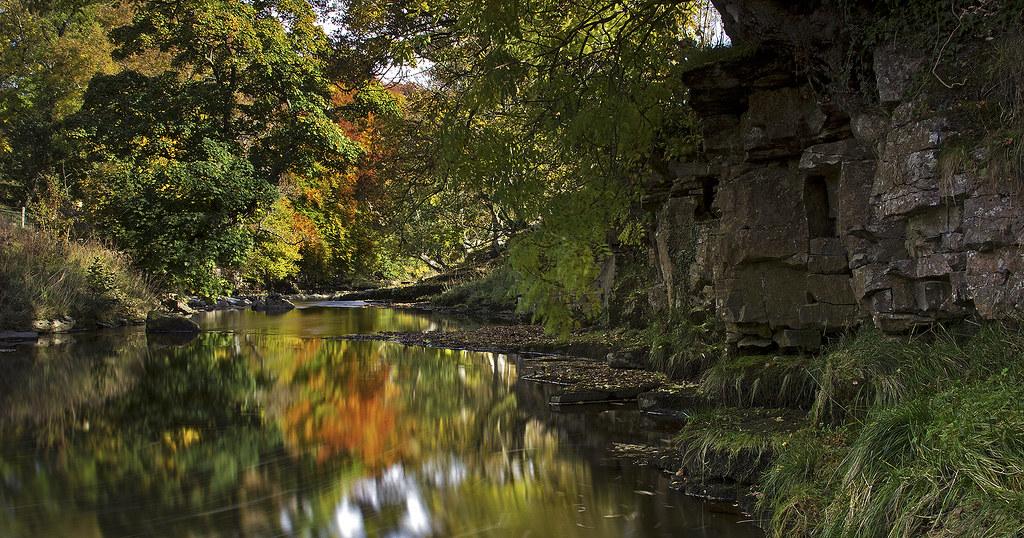 [Explored] Coverdale river, Wensleydale, Yorkshire Dales National Park. UK