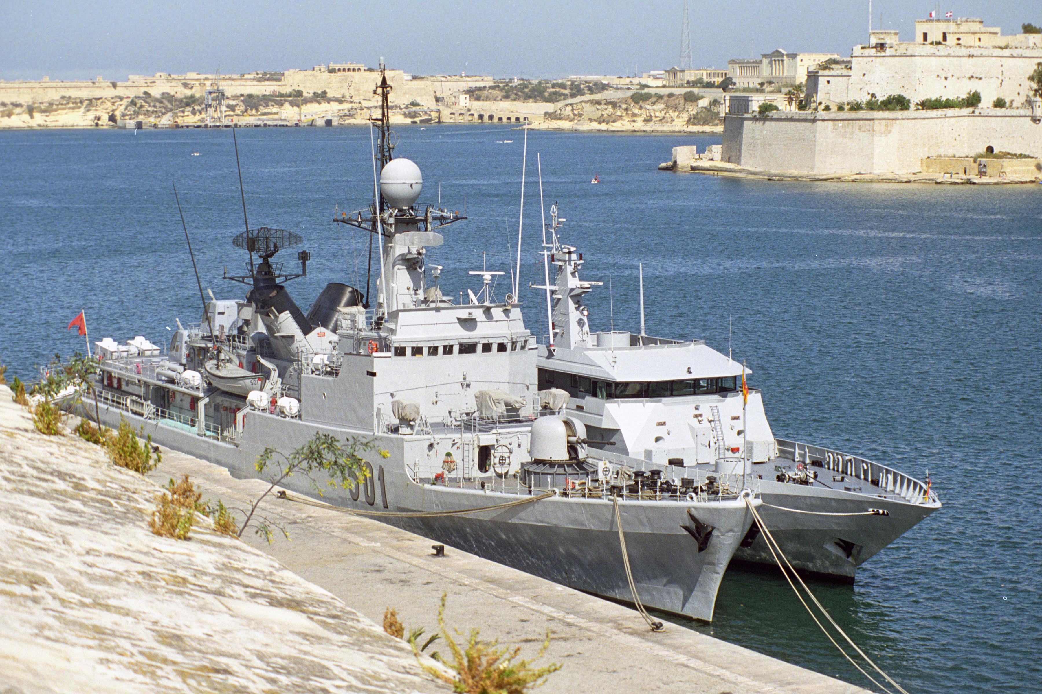 Royal Moroccan Navy Descubierta Frigate / Patrouilleur Océanique Lt Cl Errahmani - Bâtiment École - Page 3 24954225226_7667650bd7_o