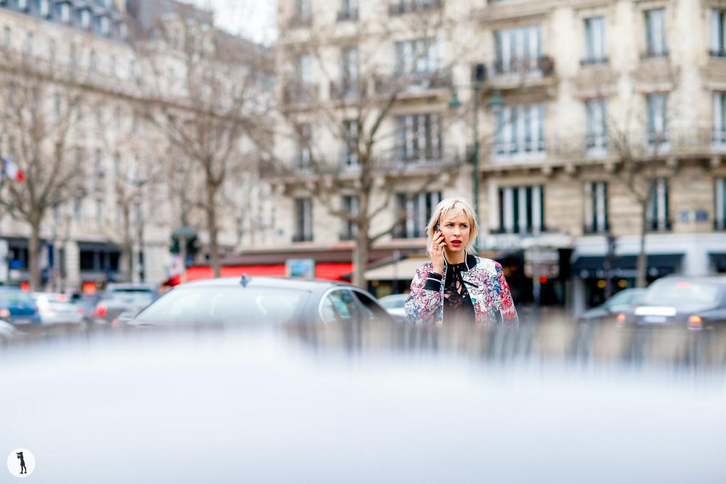 Anne-Sophie Mignaux at Paris Fashion Week Haute Couture