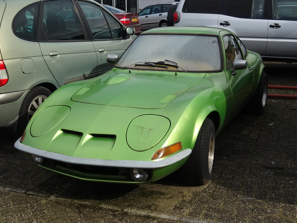 1973 Opel GT | Opel built this first generation of the GT ...