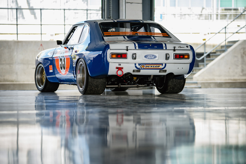 Private Collector 1972 Ford Capri RS 2600 At The 2016 Si