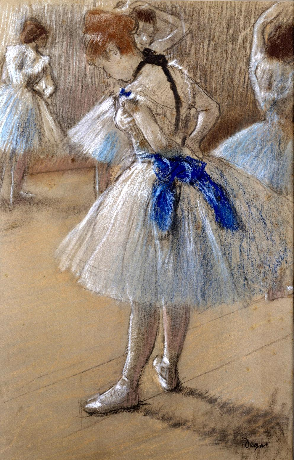 The Dance Studio by Edgar Degas, c.1878