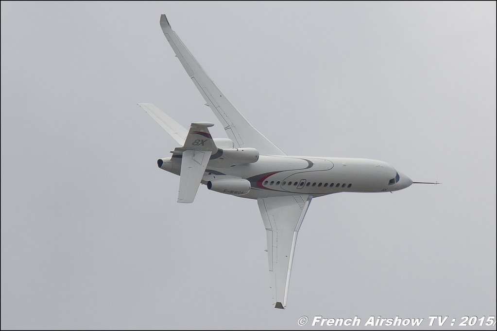 Dassault Aviation , Falcon 8X,F-WWQA ,Jet Affaire, Paris Airshow 2015 , Salon du Bourget 2015 ,lebourget, Meeting Aerien 2015