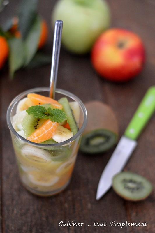 Salade de fruits et son sirop vanille cannelle gingembre - Cuisiner le gingembre ...
