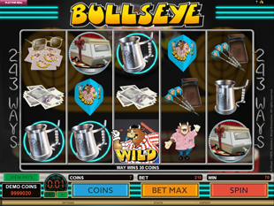 Bullseye slot game online review