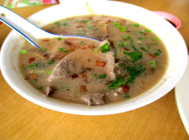 Yisen Cafe liver soup