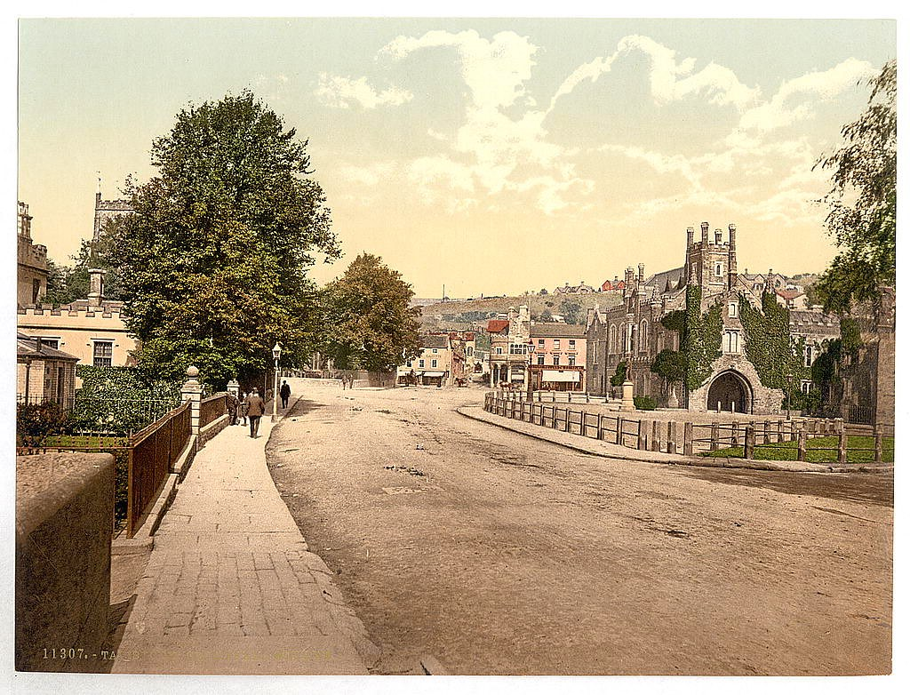 Guildhall Square, Tavistock, Devon