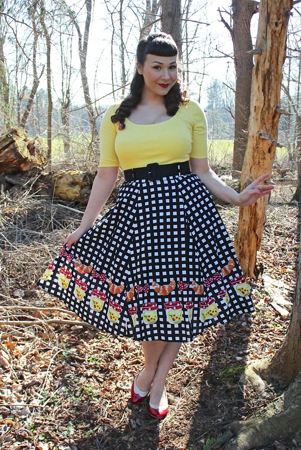croissant skirt