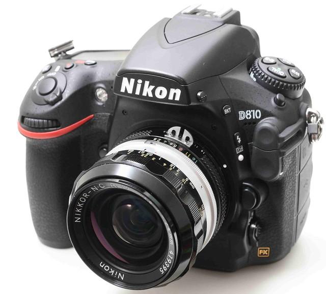Nikon Nikkor-NC 24mm f/2.8 (non-AI更換原廠AI) 具近距離補正設計  好口碑 高評分廣角鏡   95新