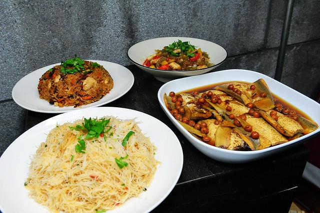 「永續年夜飯」的菜色。圖片來源:臺博館