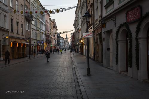 Grodzka street - Krakow, Poland
