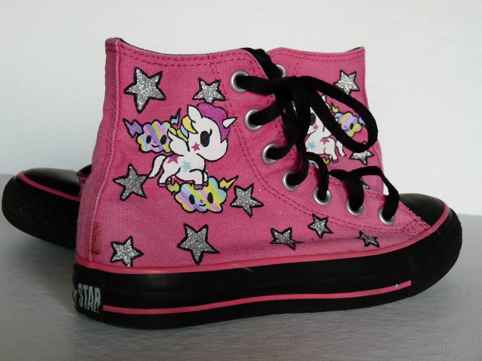 MLP style sneakers by SheriffKarli