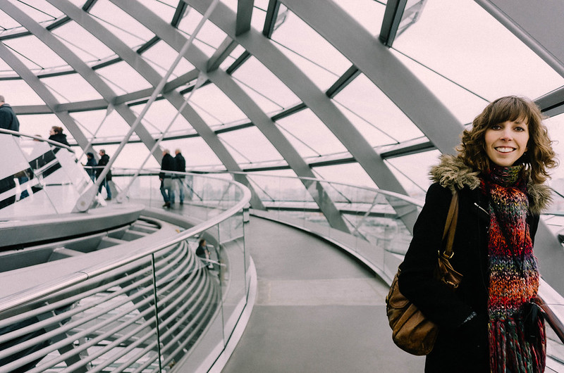 Reichstag dome, Berlin.Photography by Will Strange