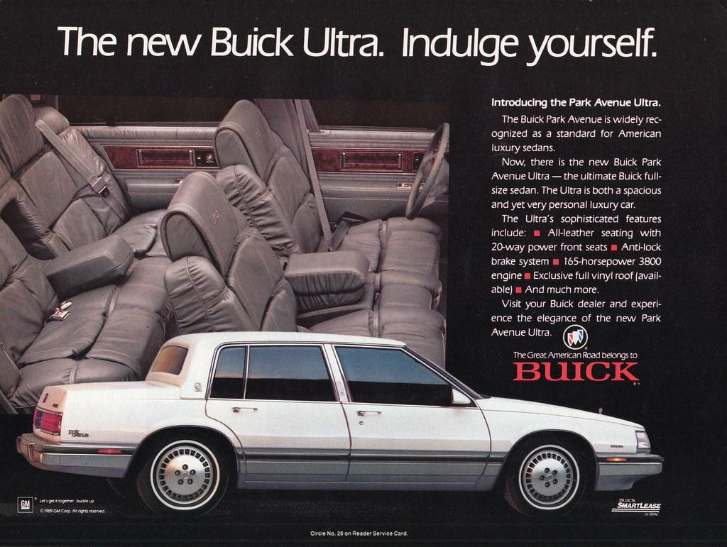 1989 buick park avenue ultra alden jewell flickr. Black Bedroom Furniture Sets. Home Design Ideas