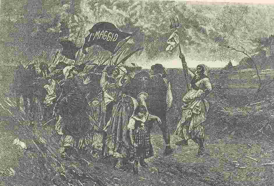 義大利,1905年五一海報,米蘭