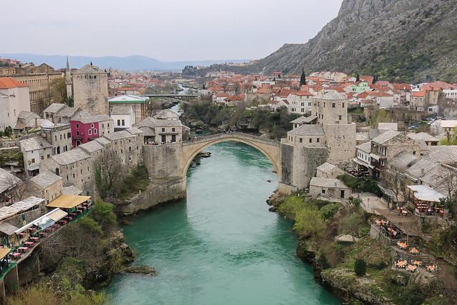 Mostar Bridge - Neretva River