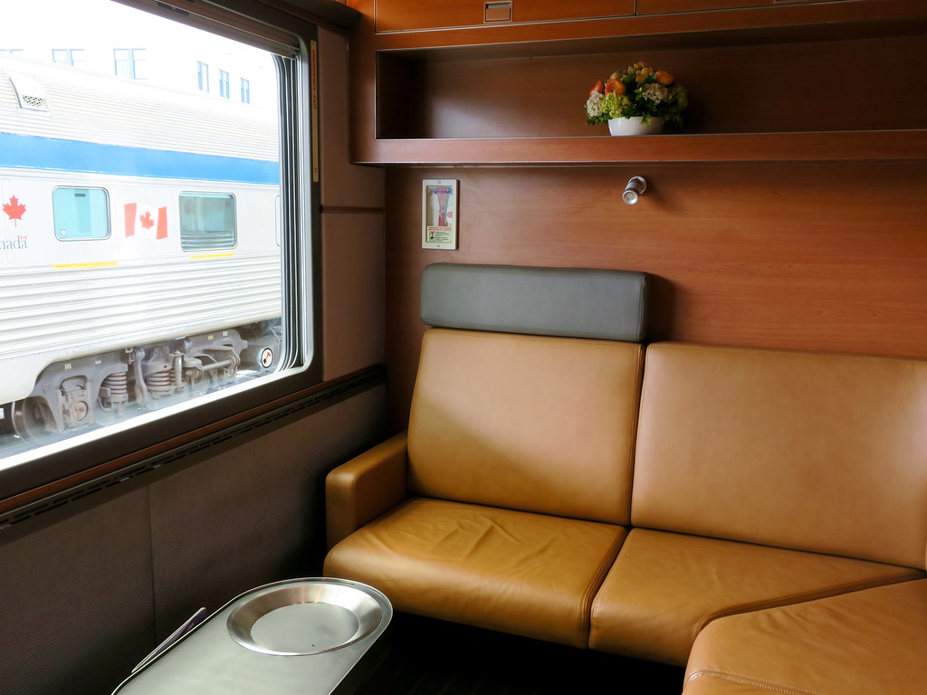 Via rail the canadian prestige class cabin for two Via rail canada cabin for 2