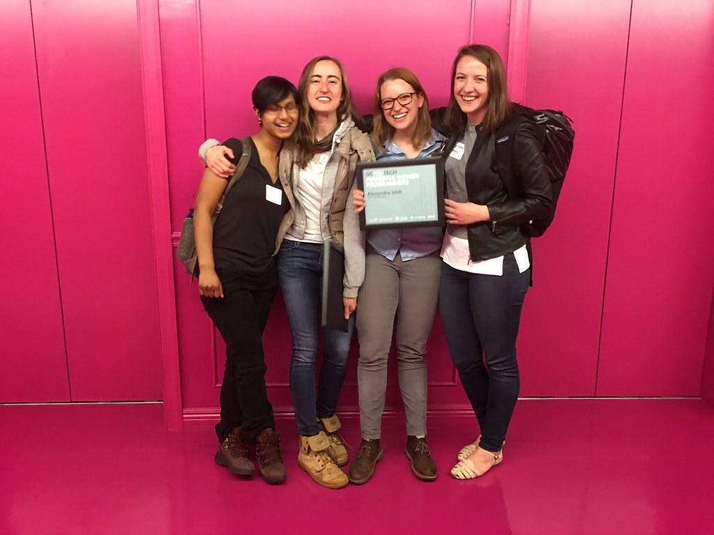 Mapbox Ladies at DCFemTech