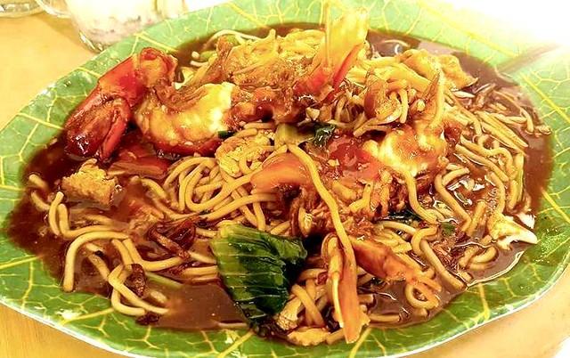 Hanyan Corner prawn noodles